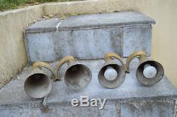 1/2 Très Belle Paire d'Appliques en Bronze Style Art Déco Epoque 1930/40
