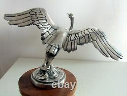 1925 Sasportas mascotte automobile, car mascot, hood ornament, art deco bronze