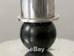 1930 2 BOUGEOIRS ART-DECO MODERNISTE BAUHAUS CUBISTE CONSTRUCTIVISTE Candlestick