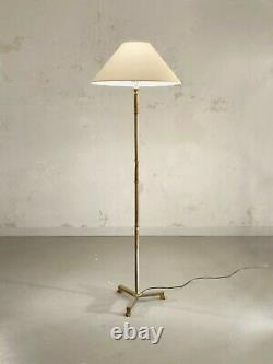 1950 MAISON JANSEN LAMPADAIRE ART-DECO NEO-CLASSIQUE SHABBY-CHIC Adnet Bagues
