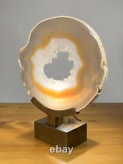 1970 LAMPE AGATHE SCULPTURE SHABBY-CHIC Willy Daro Maria Pergay Jansen ART-DECO