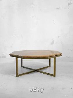 1970 Romeo Rega Table Basse Moderniste Shabby-chic Constructiviste