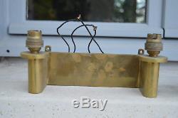 2/2 Très Belle Paire d'Appliques en Bronze Style Art Déco Epoque 1930/40