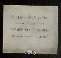 ART DECO Semaine des Elégances au Casino de Juan-les-Pins 23-30 aout 1929
