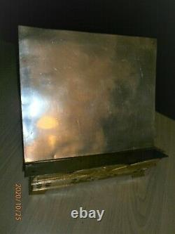 Ancien Lutrin /autel/eglise/religieux/art Deco/bronze/reliquaire/tabernacle/h. 8