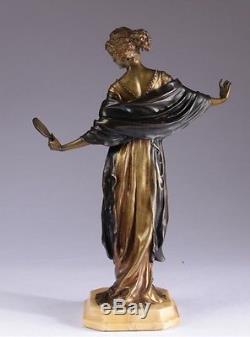 Bronze Art Deco Paul Philippe