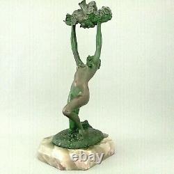 BRONZE Ep. Art Déco Johanna MEIER-MICHEL Autriche 1920