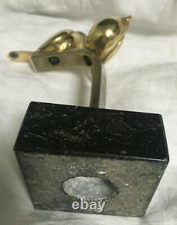 Beaux bronzes Art déco les Oiseaux sur la branche circa 1930