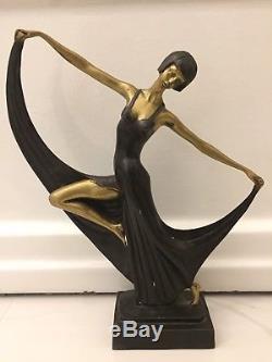 Bronze Danseuse Art Deco Art Nouveau