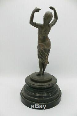 Bronze art deco orientaliste
