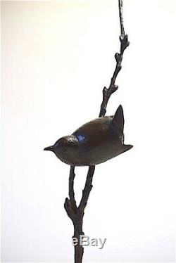 Bronze oiseau signé Becquerel Susse Frère Art Deco vers 1930