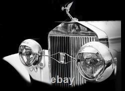 CAR MASCOT MASCOTTE AUTO TRIOMPHE par F. BAZIN circa 1920