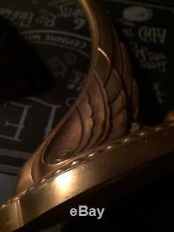 Charles Ranc Lampe Bronze Tête De Cygne