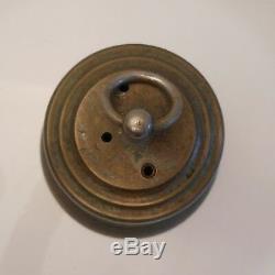 Cloche en bronze authentique vintage art-déco antiquité