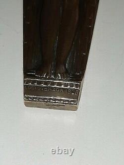 Coupe papier en bronze Art Deco De Lucien Bazor 1928