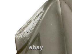 DEGUÉ (1892-1950) Paire dAppliques Flèche Art Déco Verre Moulé & Bronze Nickelé
