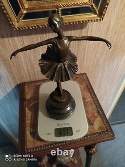 Danseuse en Bronze Style Art Déco d'après Milo