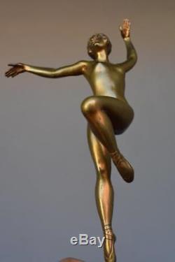 Danseuse en bronze Art déco 1930