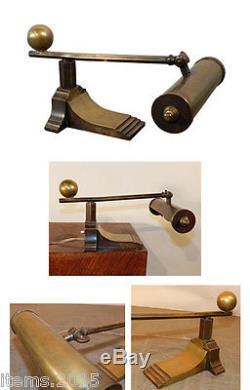 Lampe De Piano, Ou De Lecture En Bronze Et Laiton Epoque Art Deco, Vers 1930