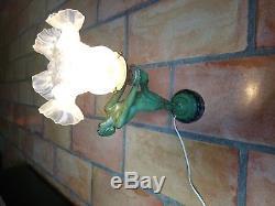 Lampe MAX LE VERRIER Femme nue (La Clarté)