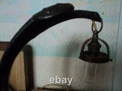 Lampe Pied Bronze Art Nouveau/deco Galle Daum Muller Majorelle 1900 Guimard