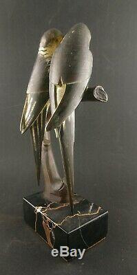 Les Inséparables Bronze De Paul Marec art deco