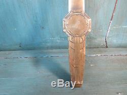 Lucien Bazor Rare Coupe Papier Bronze Dore Ep Art Deco 1928 Venus Et Amour Signé