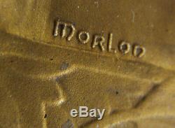 MED10055 MEDAILLE VICTOIRE COURSE AUTOMOBILE ART DECO par MORLON