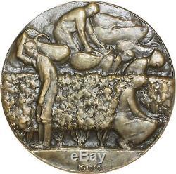O6572 Rare Fonte ART DECO Vive Bourgogne 1929 Bouchard SFAM N°131 SUP