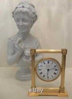 PENDULE HOUR LAVIGNE A PARIS DEPUIS 1848 NEUF D'UN FOND D'HORLOGERIE H 26 cm