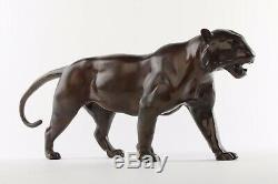 Panthère en Bronze Art Deco