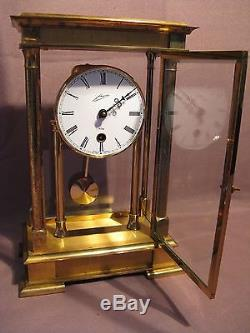 Pendule cage Allemande en bronze