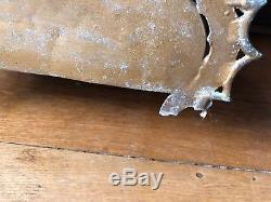 Pendule mécanique animalière XX eme 33x45 cm