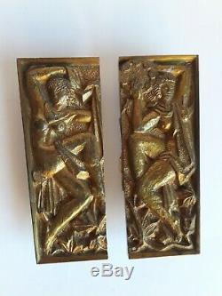 Poignées bronze ART DÉCO Maurice JALLOT