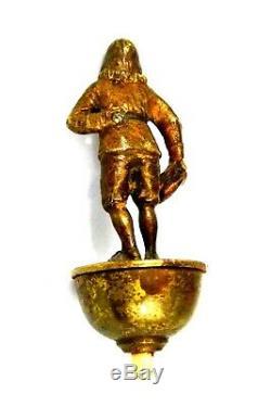 Poire électrique interrupteur Bronze Homme chapeau