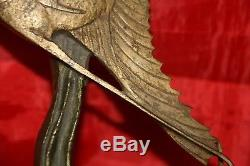 Poisson bronze art déco signé Becquerel