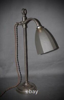 Rare Paire De Lampes Vintage 1930