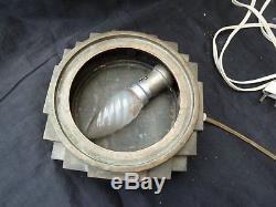 Socle en bronze -epoque art deco-pour vase gallé-daum-lalique