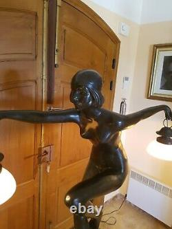 Statue De Style Art Deco danseuse