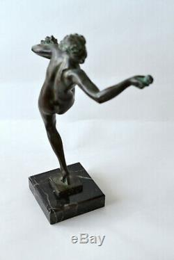 Statuette Art Deco FAIRAL de Max Le Verrier