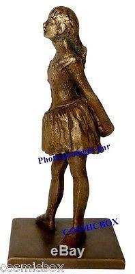 Statuette en bronze La PETITE DANSEUSE de 14 ans DEGAS statue figurine déco art