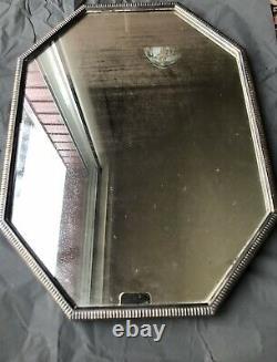 Surtout de Table BOIN TABURET Orfèvre Paris Puiforcat Miroir Art Deco Bronze