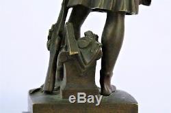 Une Marianne Combattante vue par David d'Angers Bronze de 1840