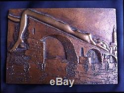 VERY RARE MAN RAY, RADNITSKY Emmanuel, 1890-1976 (USA) LE PONT BRISÉ 1971 E. A